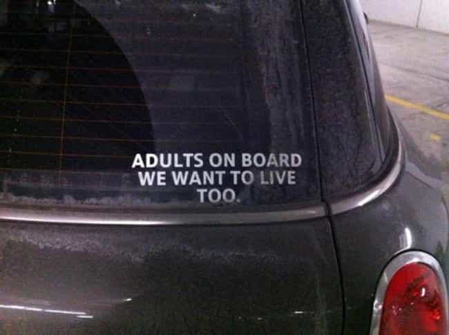 Life Without Kids: Still... is listed (or ranked) 2 on the list The Funniest Bumper Stickers on the Road