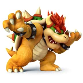 Bowser is listed (or ranked) 13 on the list The Best Nintendo 64 Characters