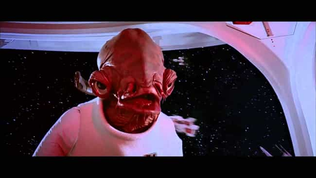 Admiral Akbar Knows What's Up is listed (or ranked) 2 on the list Star Wars Movie Quotes