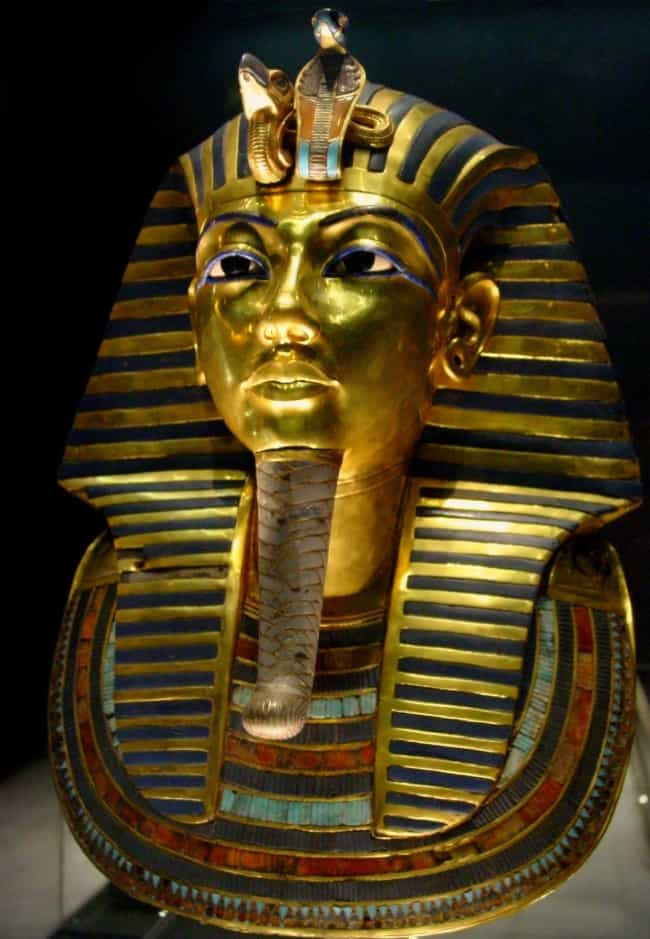 Tut Had a Variety of Nam... is listed (or ranked) 2 on the list 21 Weird Facts About King Tut