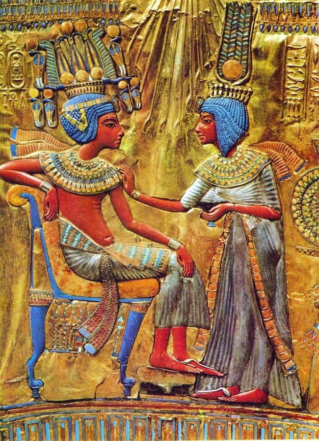 He Married at Nine Years Old is listed (or ranked) 10 on the list 21 Weird Facts About King Tut