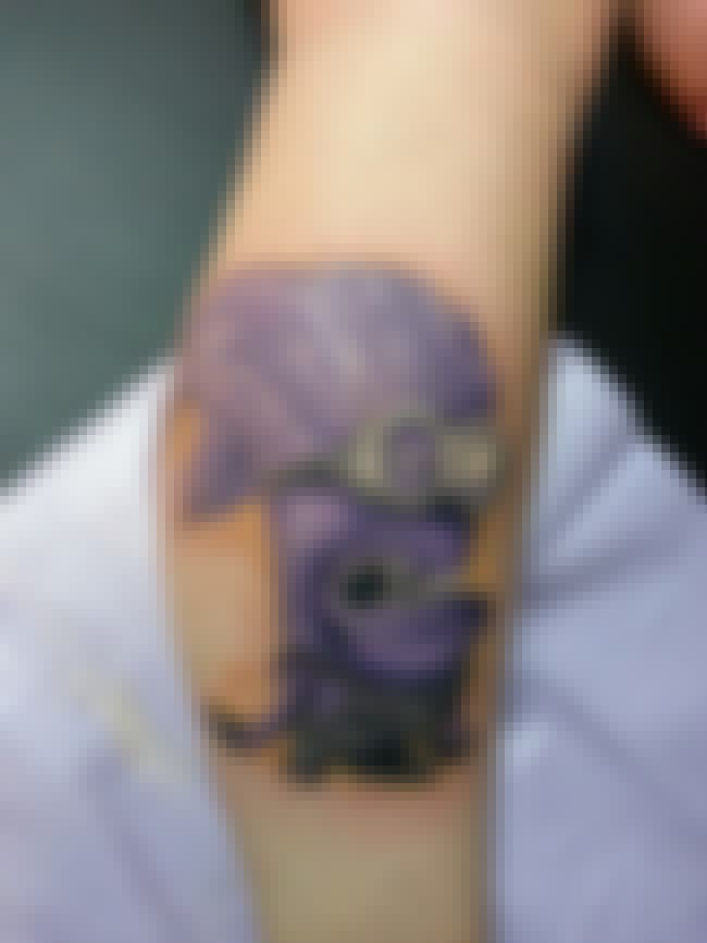 Dr. Jekyll & Mr. Minion is listed (or ranked) 4 on the list 30 People Who Actually Got a Minion Tattoo