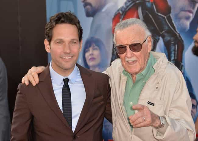 Stan Lee - During Luis' ... is listed (or ranked) 1 on the list The Best Easter Eggs And References Hidden In 'Ant-Man'