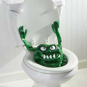 Toilet Gremlin on the Attack is listed (or ranked) 10 on the list The Most WTF Things You Can Buy on Amazon