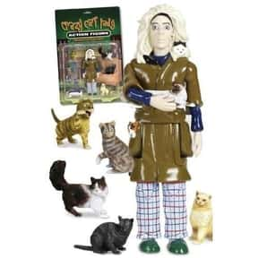 Crazy Cat Lady Action Figure is listed (or ranked) 11 on the list The Most WTF Things You Can Buy on Amazon