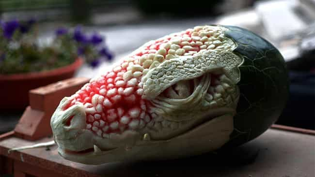 Watermelon Gator is listed (or ranked) 3 on the list The Best Pictures of Food Art
