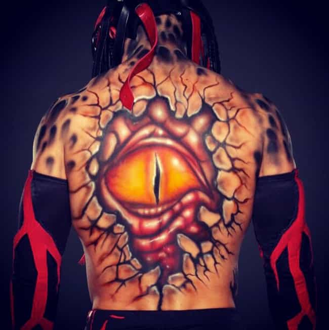 The Eye Of Balor is listed (or ranked) 2 on the list The Best Of Finn Balor's Body Paint