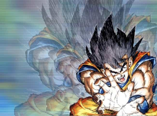 Goku really loves that Kameham... is listed (or ranked) 2 on the list 32 Fun Facts About the Dragon Ball Z Series