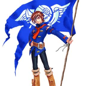 Vyse is listed (or ranked) 20 on the list The Best Gamecube Characters