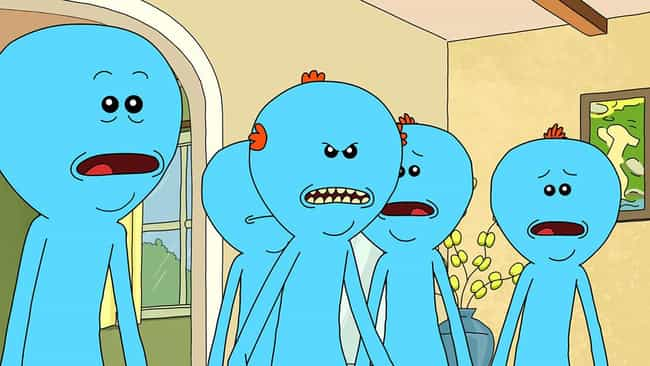 """Existence Is Pain!"" is listed (or ranked) 2 on the list The Deepest Rick And Morty Philosophy Quotes"