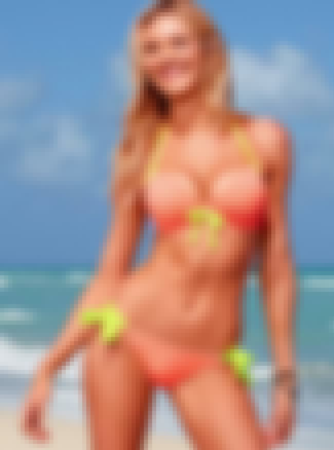 Candice Swanepoel in Neon Two-... is listed (or ranked) 1 on the list Hottest Candice Swanepoel Bikini Pics