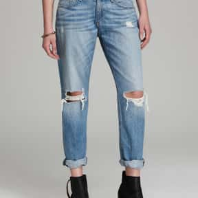 Rag & Bone is listed (or ranked) 2 on the list The Best High-End Expensive Jeans For Women