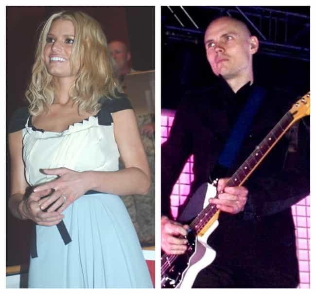 Billy Corgan And Jessica Simpson