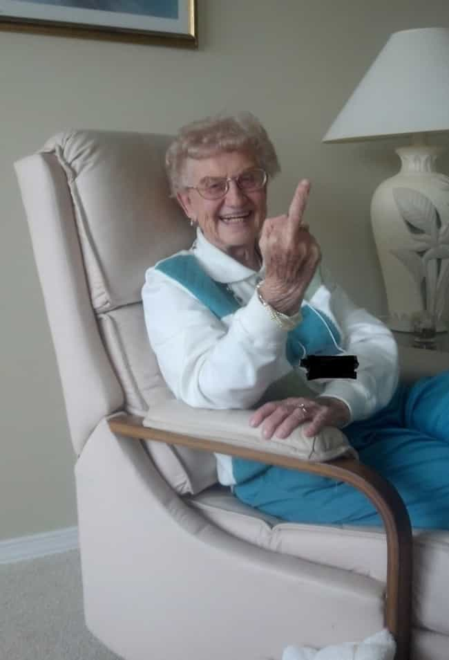 Grandma's Special Holiday ... is listed (or ranked) 4 on the list Old People Who Are Cooler Than You