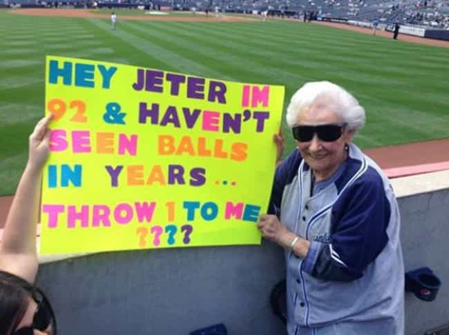 Who Won? This Lady. is listed (or ranked) 1 on the list Old People Who Are Cooler Than You