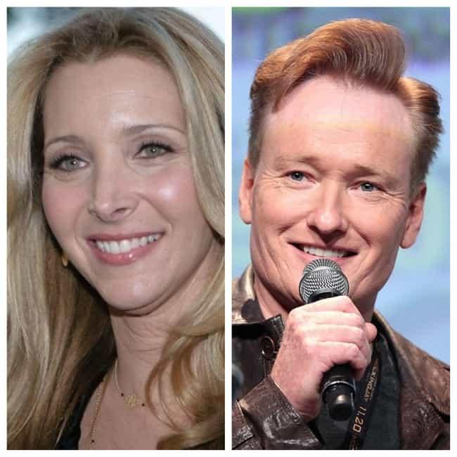 Lisa Kudrow And Conan O??Brien