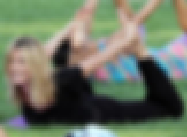 Heidi Klum Doing Her Yoga Clas... is listed (or ranked) 2 on the list Heidi Klum Feet Pics