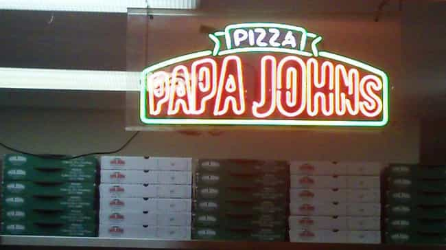 Is Eating at Papa John's... is listed (or ranked) 4 on the list Chain Restaurant Secrets That Will Gross You Out Forever