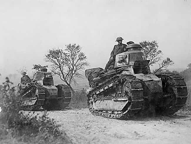Renault FT (American) is listed (or ranked) 5 on the list The Greatest World War 1 Tanks