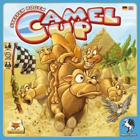 Camel Up is listed (or ranked) 6 on the list The Best Board Games For 6-8 Players