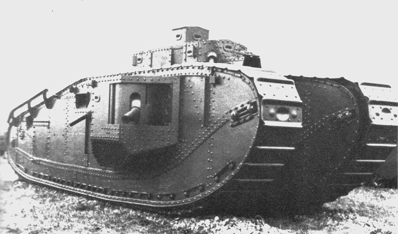 Mark VIII Liberty Tank is listed (or ranked) 4 on the list The Greatest World War 1 Tanks