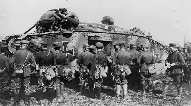 Beutepanzerwagen is listed (or ranked) 8 on the list The Greatest World War 1 Tanks