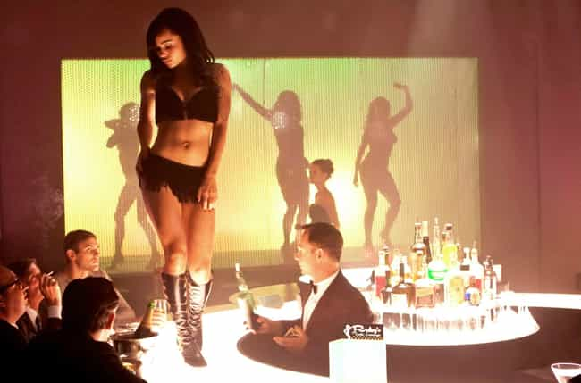 Double Lapdance from X-Men: Fi... is listed (or ranked) 4 on the list The Sexiest Scenes In Comic Book Movies
