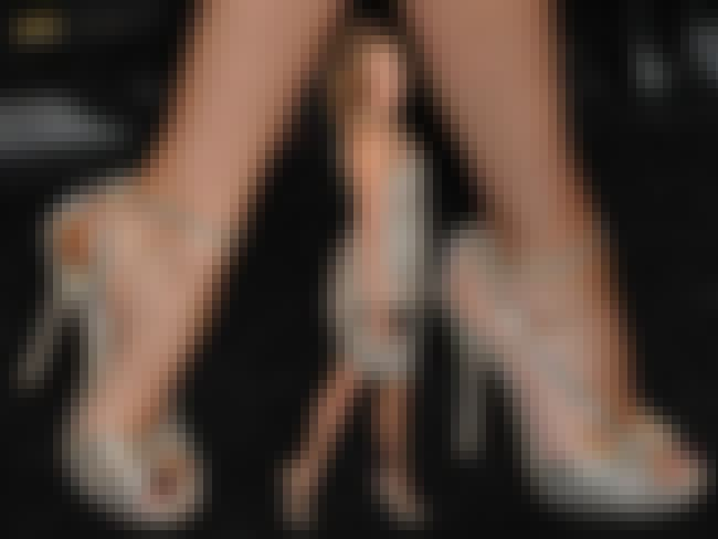 Kylie Minogue in Shimmering Hi... is listed (or ranked) 3 on the list Kylie Minogue Feet Pics