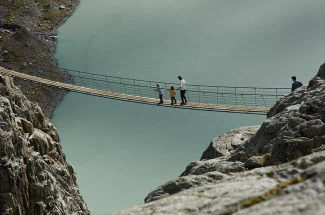 This Death Trap Over Water is listed (or ranked) 4 on the list 29 Of The World's Most Terrifying Bridges