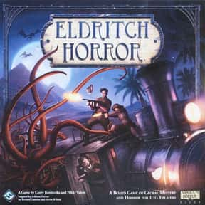 Eldritch Horror is listed (or ranked) 6 on the list The Best Board Games for 4 People