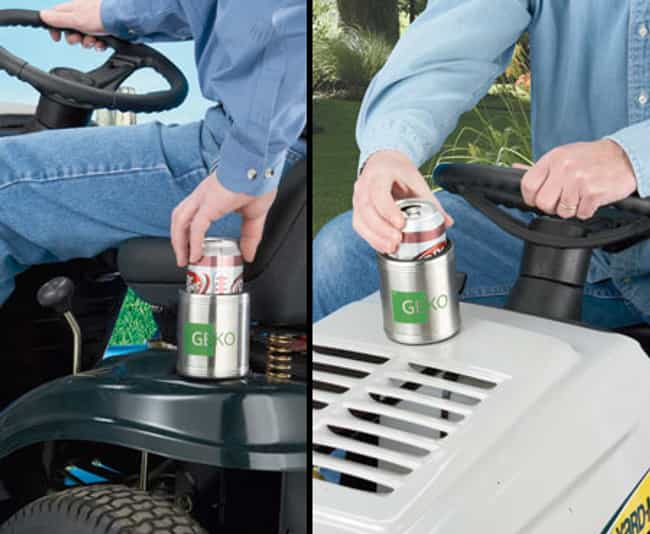 Magnetic Can Cooler is listed (or ranked) 1 on the list Products for People Who Love Booze