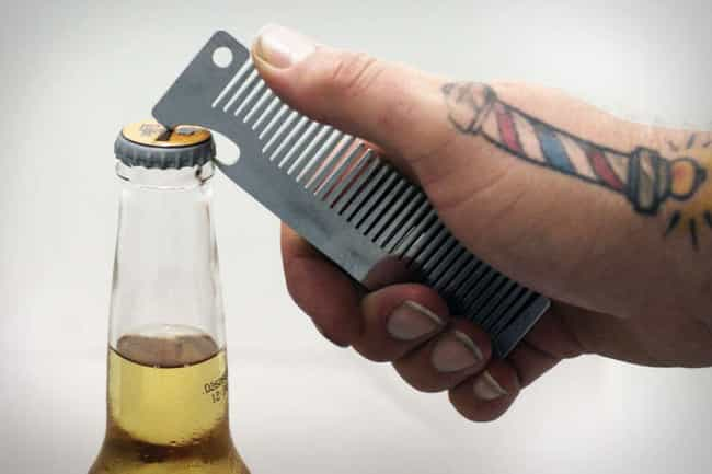 Hairbrush Beer Poppers ... is listed (or ranked) 20 on the list Products for People Who Love Booze