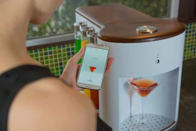 This Personal Bartender ... is listed (or ranked) 4 on the list Futuristic Kitchen Gadgets You Had No Idea You Needed