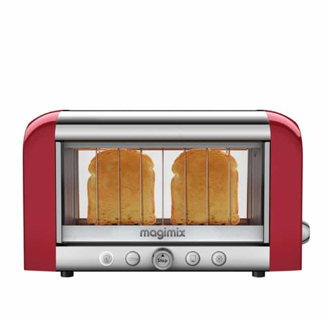This See-Through Toaster... is listed (or ranked) 1 on the list Futuristic Kitchen Gadgets You Had No Idea You Needed