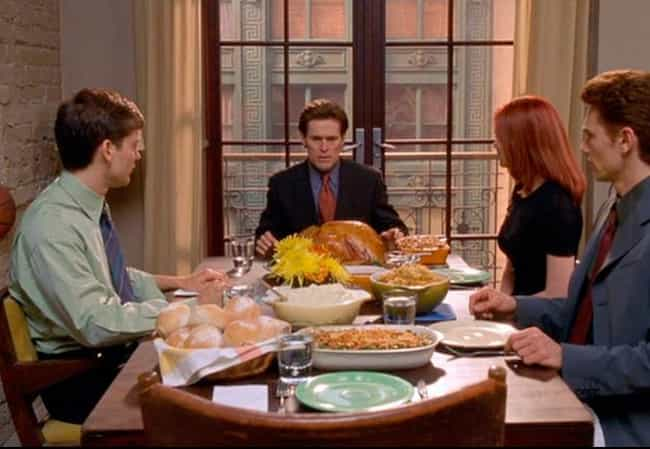 The Thanksgiving Scene Is Colo... is listed (or ranked) 1 on the list 20 Fun Facts About the Spider-Man Trilogy