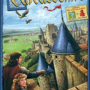 Carcassone is listed (or ranked) 12 on the list The Best Board Games for 4 People