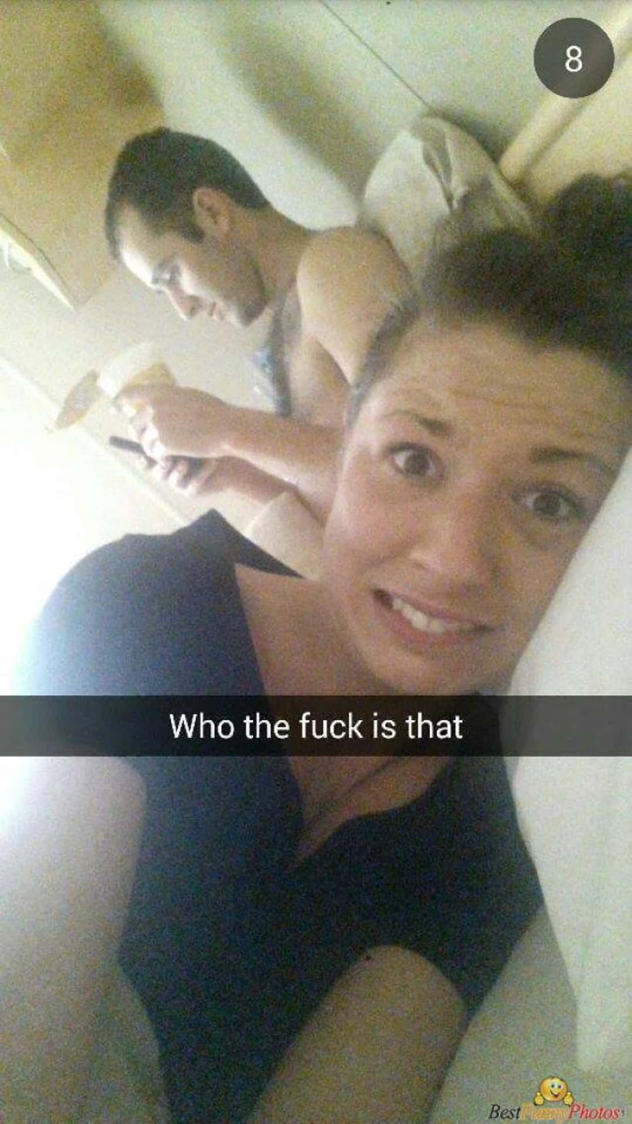 Stranger Danger is listed (or ranked) 2 on the list Hilarious Snapchats From The Morning After