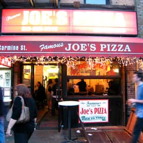 Joe's Pizza is listed (or ranked) 1 on the list The Best Pizza in New York City