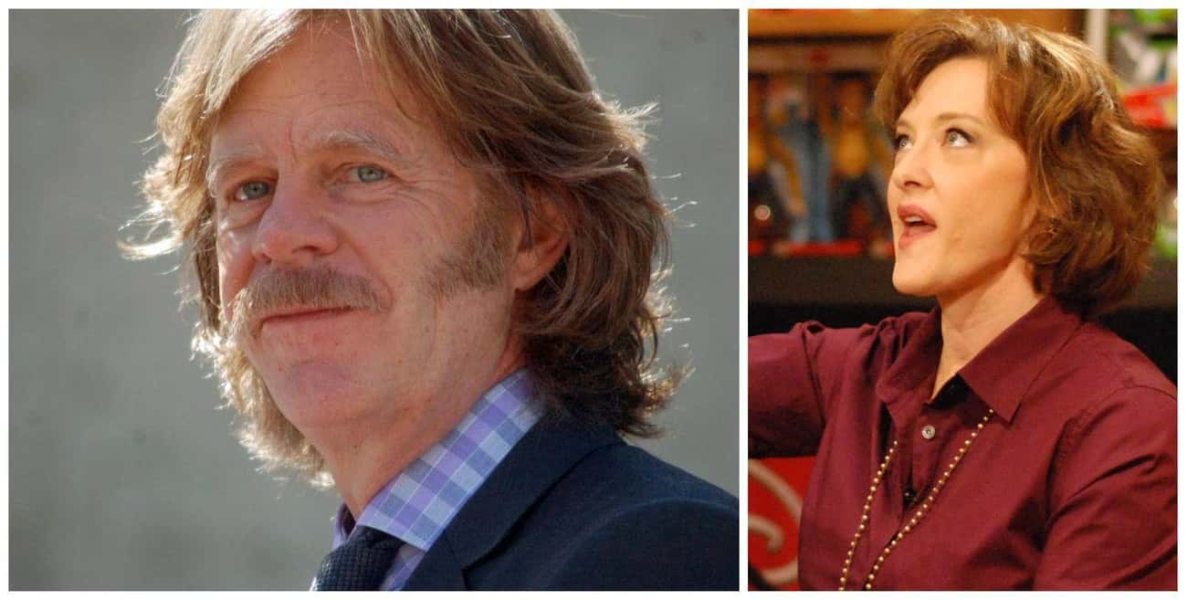 William H. Macy and Joan Cusac is listed (or ranked) 4 on the list 17 Celebrities Who Babysat Other Celebrities