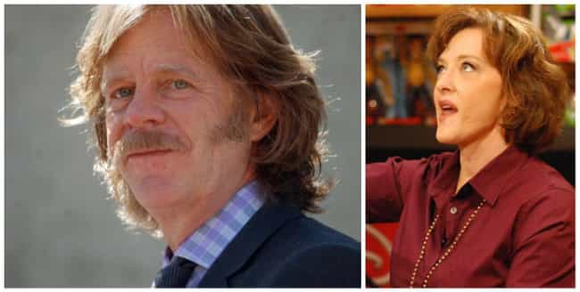 William H. Macy and Joan Cusac... is listed (or ranked) 4 on the list 17 Celebrities Who Babysat Other Celebrities