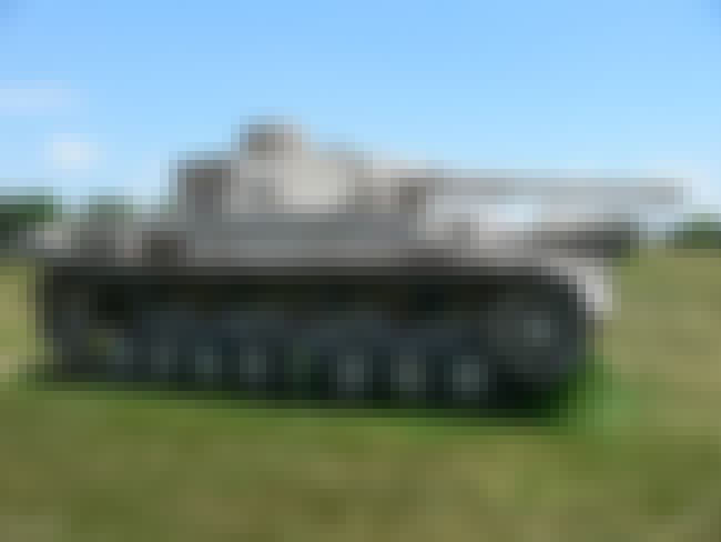 Panzer IV is listed (or ranked) 4 on the list The Greatest World War 2 Tanks