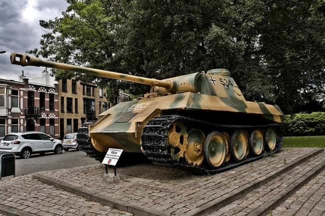 Panther Tank is listed (or ranked) 2 on the list The Greatest World War 2 Tanks