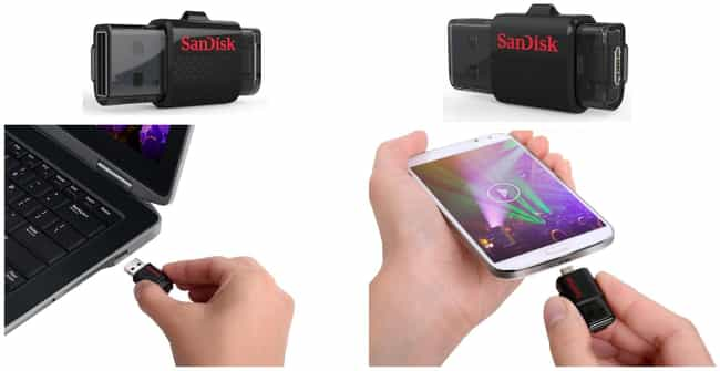 SanDisk Ultra Dual USB Drive is listed (or ranked) 1 on the list 28 Products All College Students Should Own