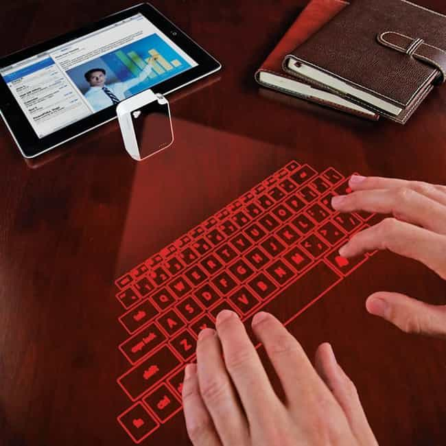Laser Projection Virtual Keybo... is listed (or ranked) 3 on the list 28 Products All College Students Should Own