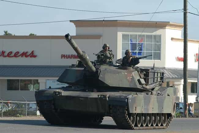 M1 Abrams is listed (or ranked) 2 on the list The Best Modern Battle Tanks