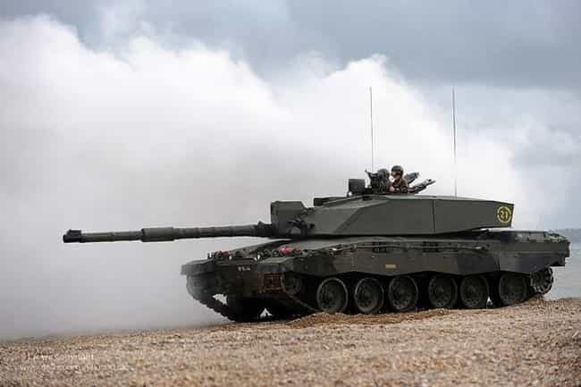 Challenger 2 is listed (or ranked) 3 on the list The Best Modern Battle Tanks