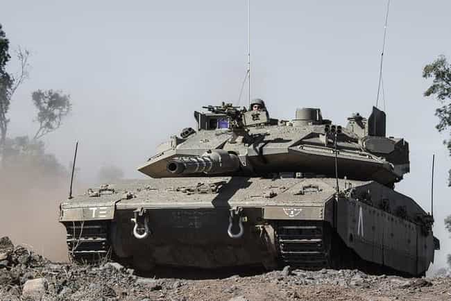 Merkava is listed (or ranked) 4 on the list The Best Modern Battle Tanks