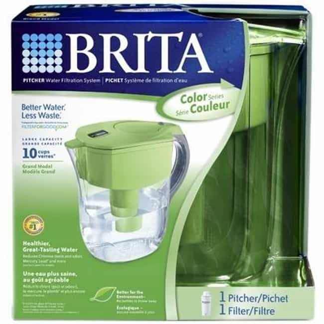 A Water Filter is listed (or ranked) 4 on the list 28 Products All College Students Should Own
