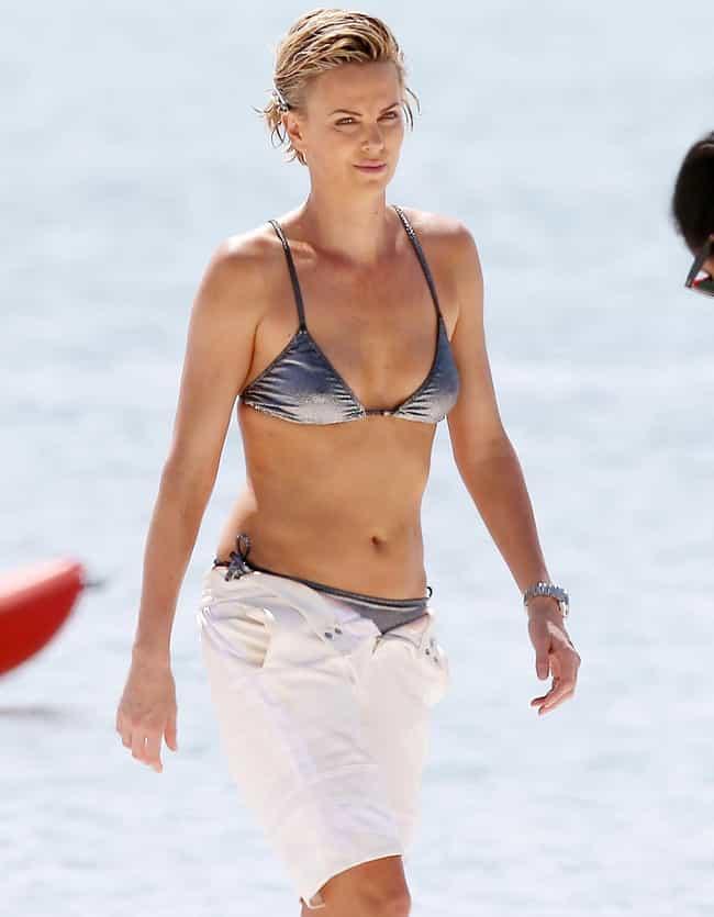 Charlize Theron Bikini Pictures