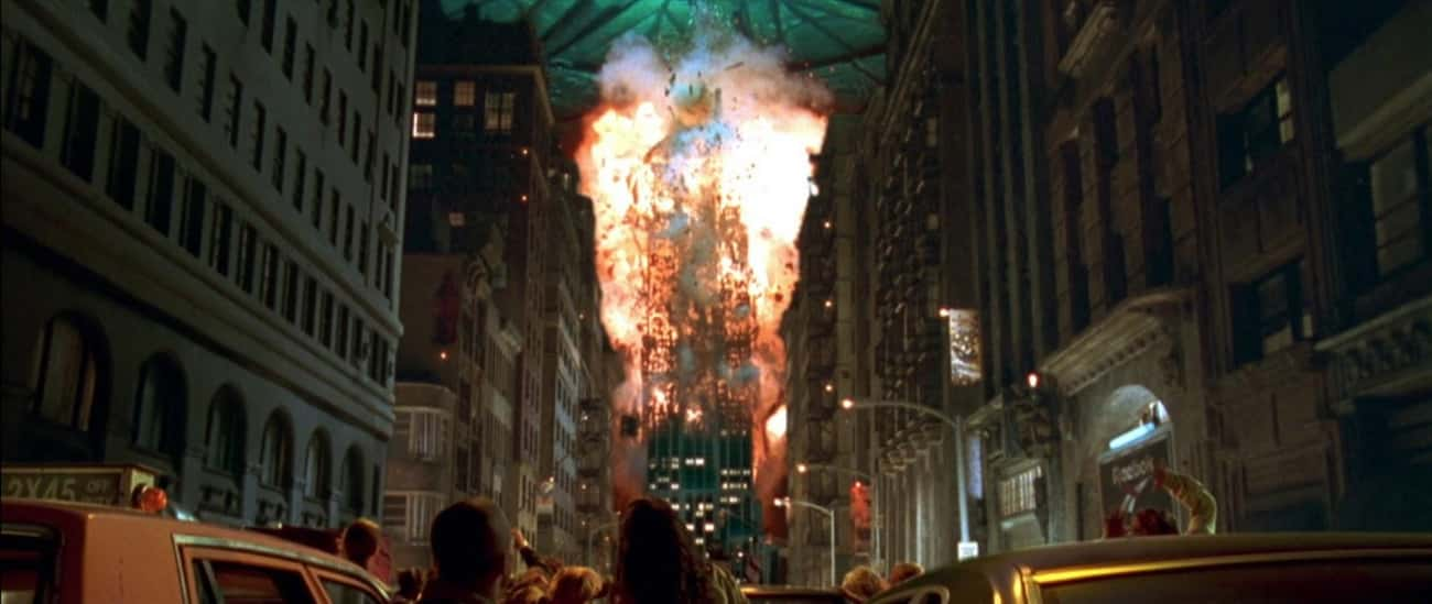 Alien Flame Ray, Independence  is listed (or ranked) 3 on the list Times New York Was Destroyed on Film